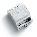 Радиодиммер 1-канальный на DIN-рейку для управления резистивными и индуктивными нагрузками